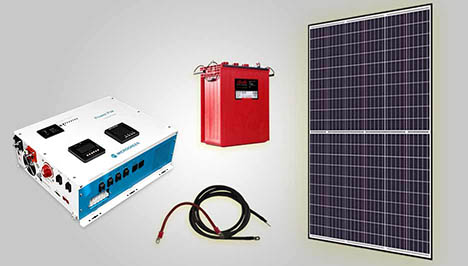 solar panels & system kits for offgrid solution