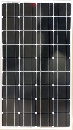 100 watt rigid solar panel